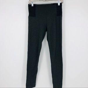 Zara Charcoal Gray Thick Leggings Size Medium